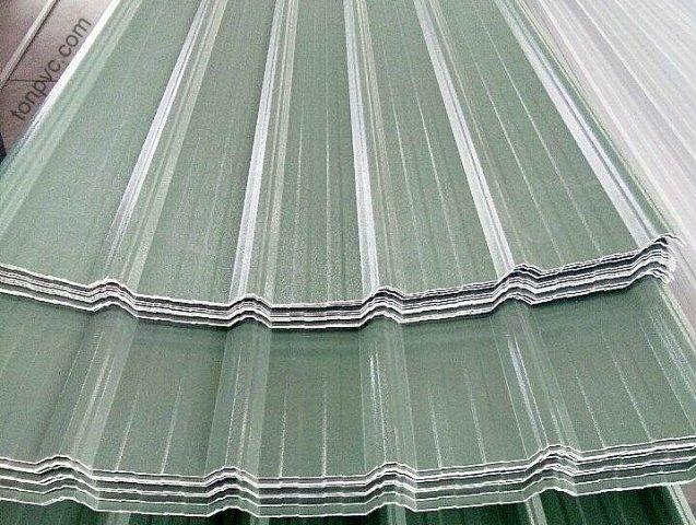Tôn Nhựa Tổng Hợp ASA/PVC màu Xanh Ngọc, Hàng có sẵn