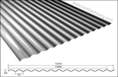 Tôn Sáng 14 Sóng Tròn - Tôn sáng sợi thủy tinh composite frp