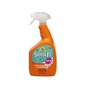 Santa Fe Coat Conditioner & Sunscreen Absorbine 946 ml.