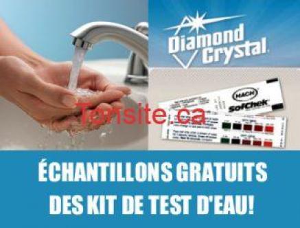 test deau - Échantillons gratuits des kit de test d'eau!!