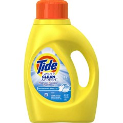 Tide Simply Clean and Fresh 25 loads1 - Détergent à lessives Tide Simply Clean & Fresh(38 brassées) à 3,27$ après coupon!