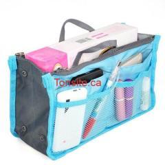 trousse bleu - Trousse de voyage maquillage Multi-fonction à 3,59$ + livraison gratuite!