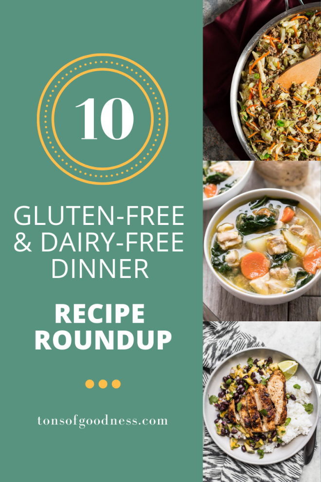 top gluten free and dairy free dinner recipes