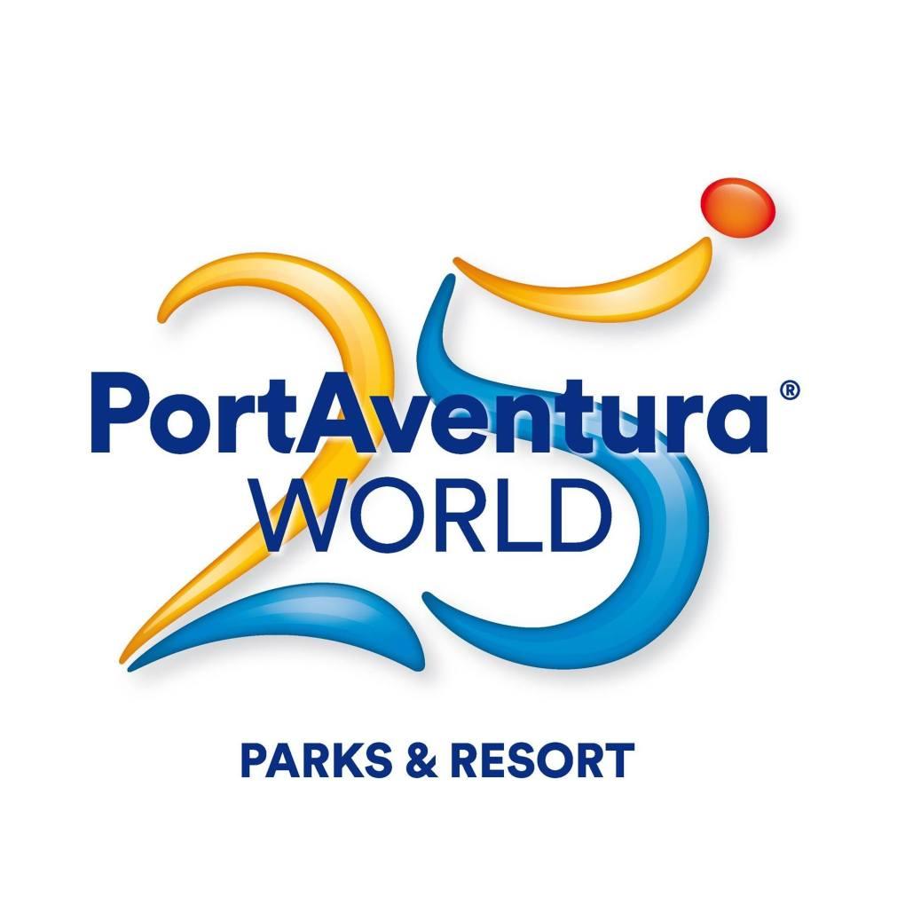 Logo del 25 aniversario de PortAventura
