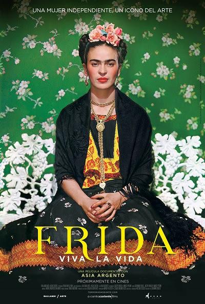 Póster de Frida. Viva la vida