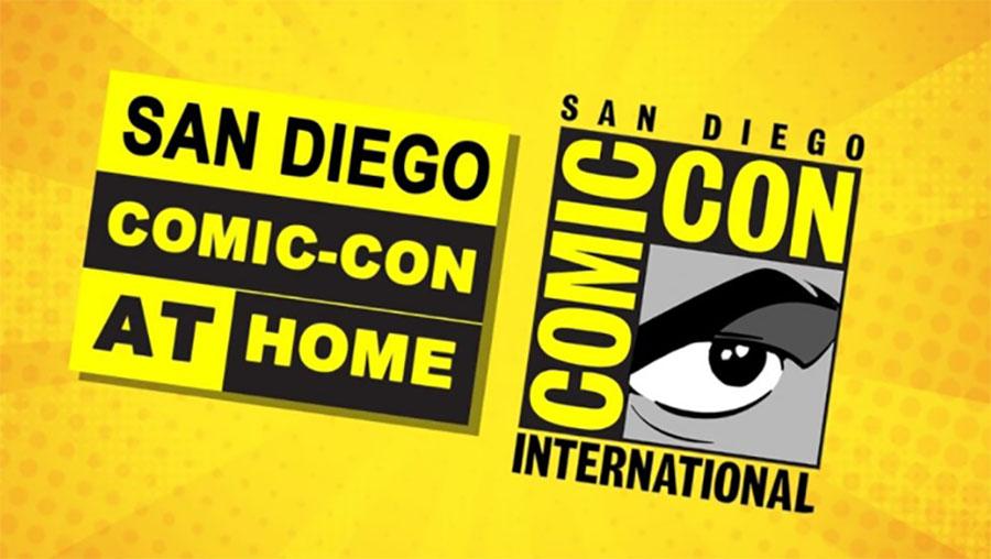 Cartel de la Comic-Con@Home