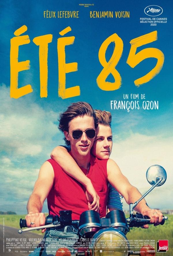 verano del 85 póster