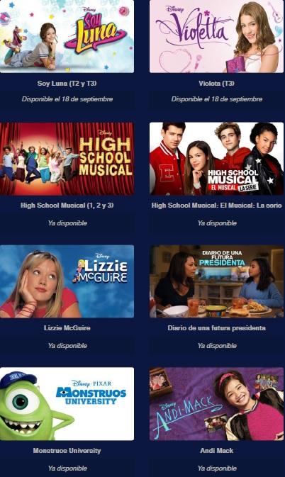 Disney + estrenos septiembre