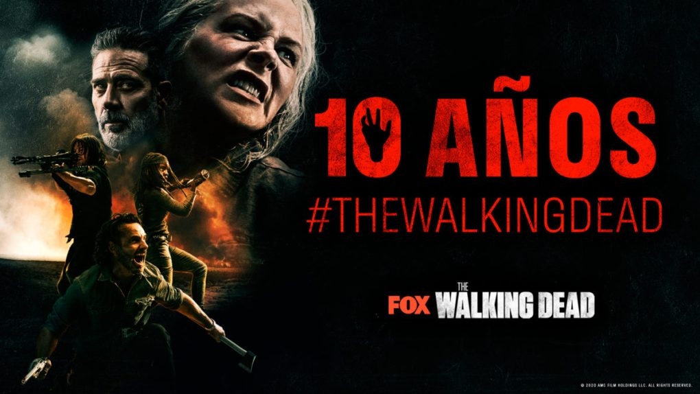 the walking dead 10 años