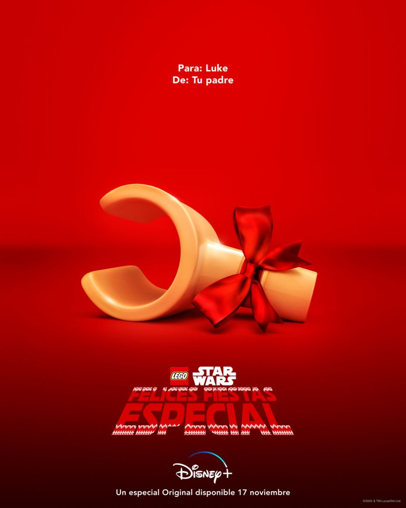 felices fiestas lego star wars