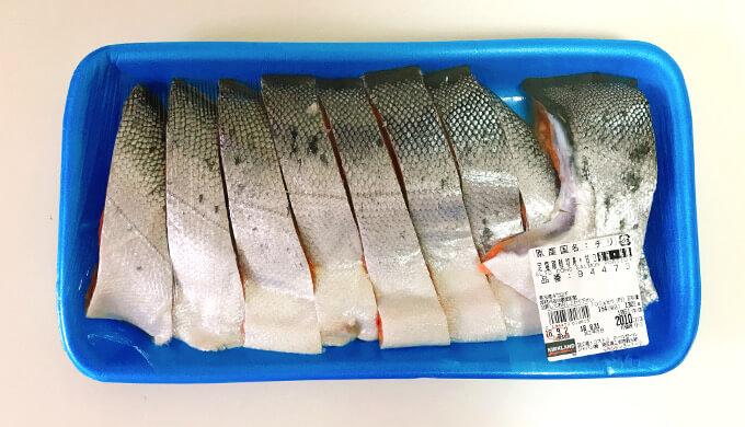定塩銀鮭切身