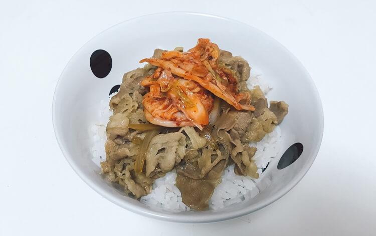 キムチ(牛丼)