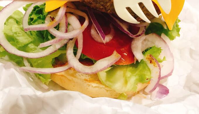 チーズバーガー(トマト)