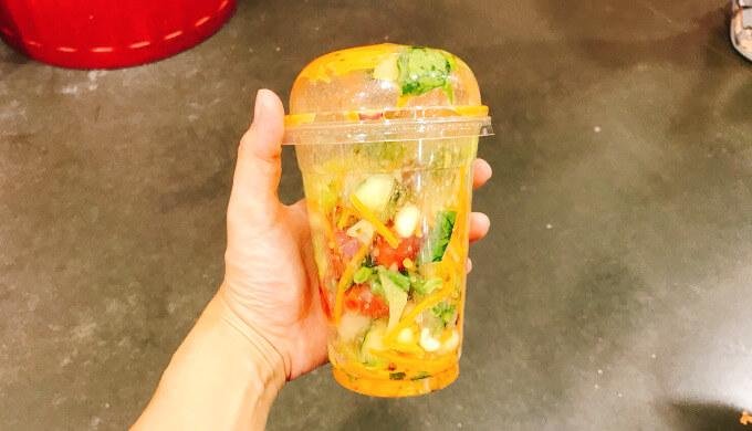 ガーデンサラダ(混ぜた)