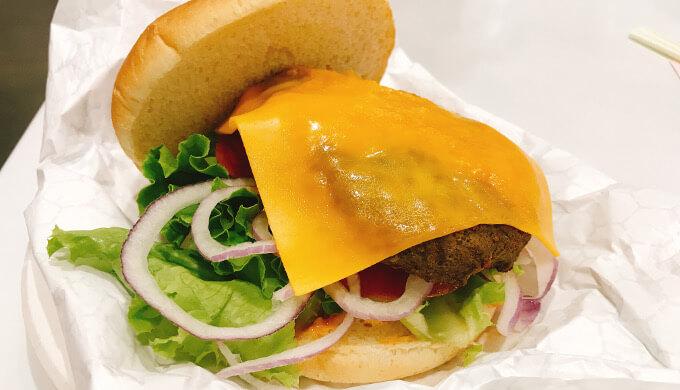 チーズバーガー(チーズ)