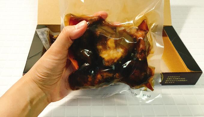 黒酢酢豚(パックサイズ)