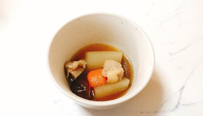 アワビオイスターソース(煮物)