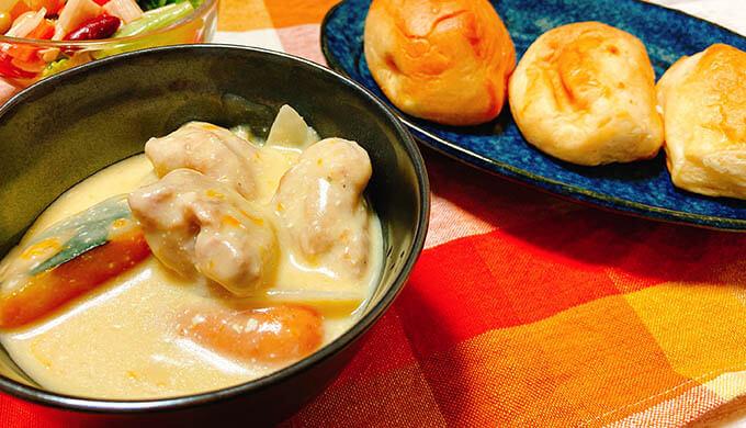 ムーンダラ(冷凍チーズで作ったシチュー)