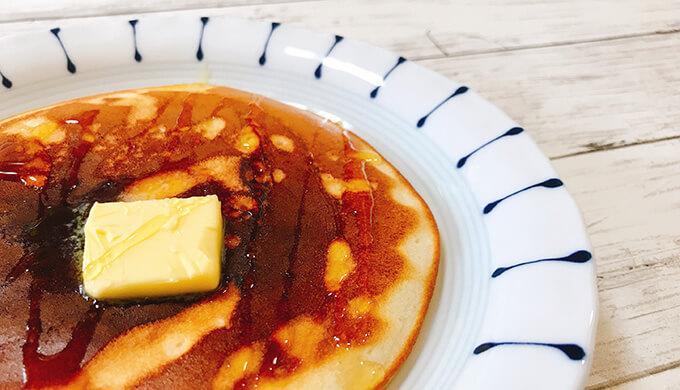 オーガニックパンケーキ(ハニーバター)