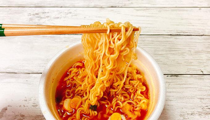 ユッケジャンラーメン(麺)