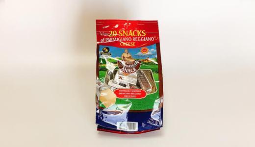 コストコのスナックパルメザンチーズは適度な塩気でおつまみにおすすめ