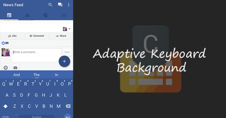 Как изменить цвет клавиатуры Android в соответствии с приложением