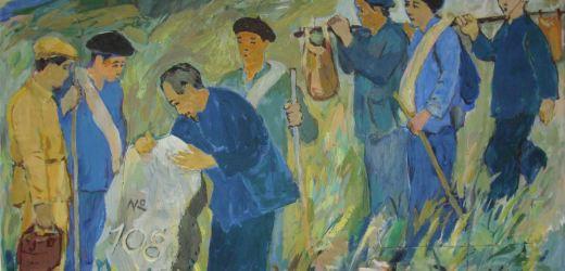 Nhân 74 năm Quốc khánh: Họa sỹ Trần Từ Thành và câu chuyện về bức tranh 'Bác Hồ với thiếu nhi'