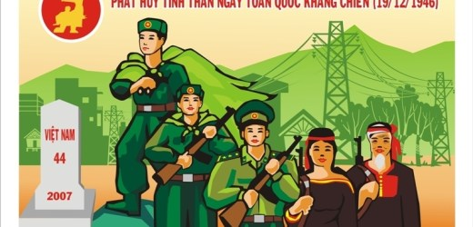 Thi sáng tác tranh cổ động kỷ niệm Ngày Toàn quốc kháng chiến