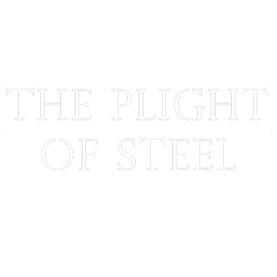 The Plight of Steel - Words (White)