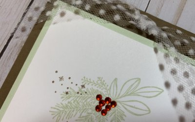 Quick and Simple Christmas Card using the Christmas Countdown Stamp Set