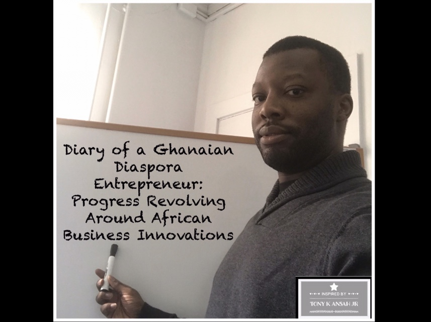 Upcoming Diary by Ghanaian American Author & Entrepreneur