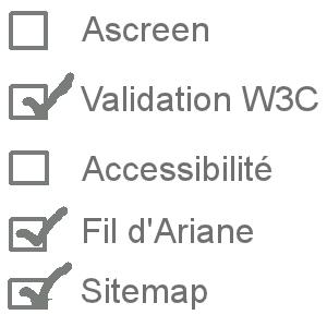 Checklist pour site web