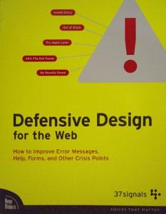 Livre Defensive Design for the Web