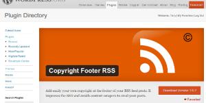 Ajouter une bannière sur la page d'un plugin WordPress