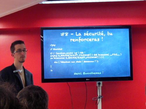 Présentation d'Aurélien Denis au WordCamp Paris 2014