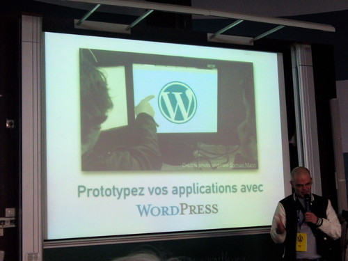 Présentation de Mathieu Viet au WordCamp Paris 2014