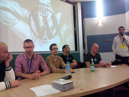 Table ronde au WordCamp Paris 2014
