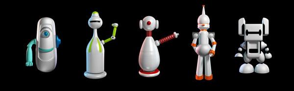 너무 다양한 인공지능 관련 디자인들이 있다. by http://meganminminc.com/A-I-Robot