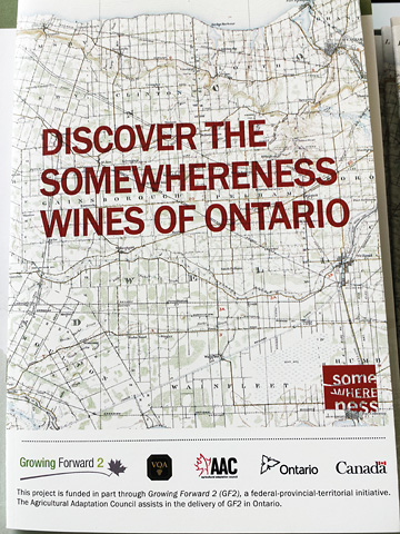 brochure: DISCOVER THE SOMEWHERENESS WINES OF ONTARIO
