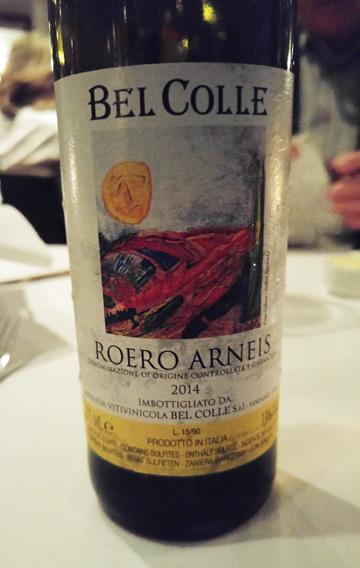 Bel Colle Roero Arneis 2014