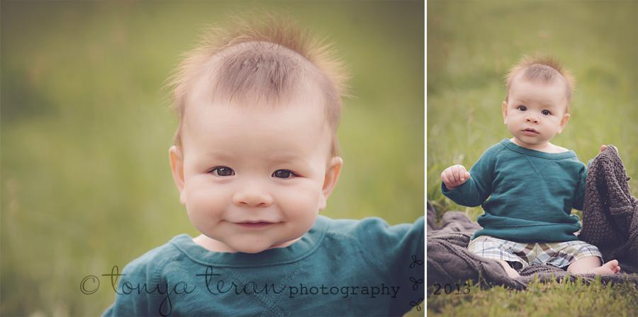 Rockville, MD natural light baby photographer | Tonya Teran Photography