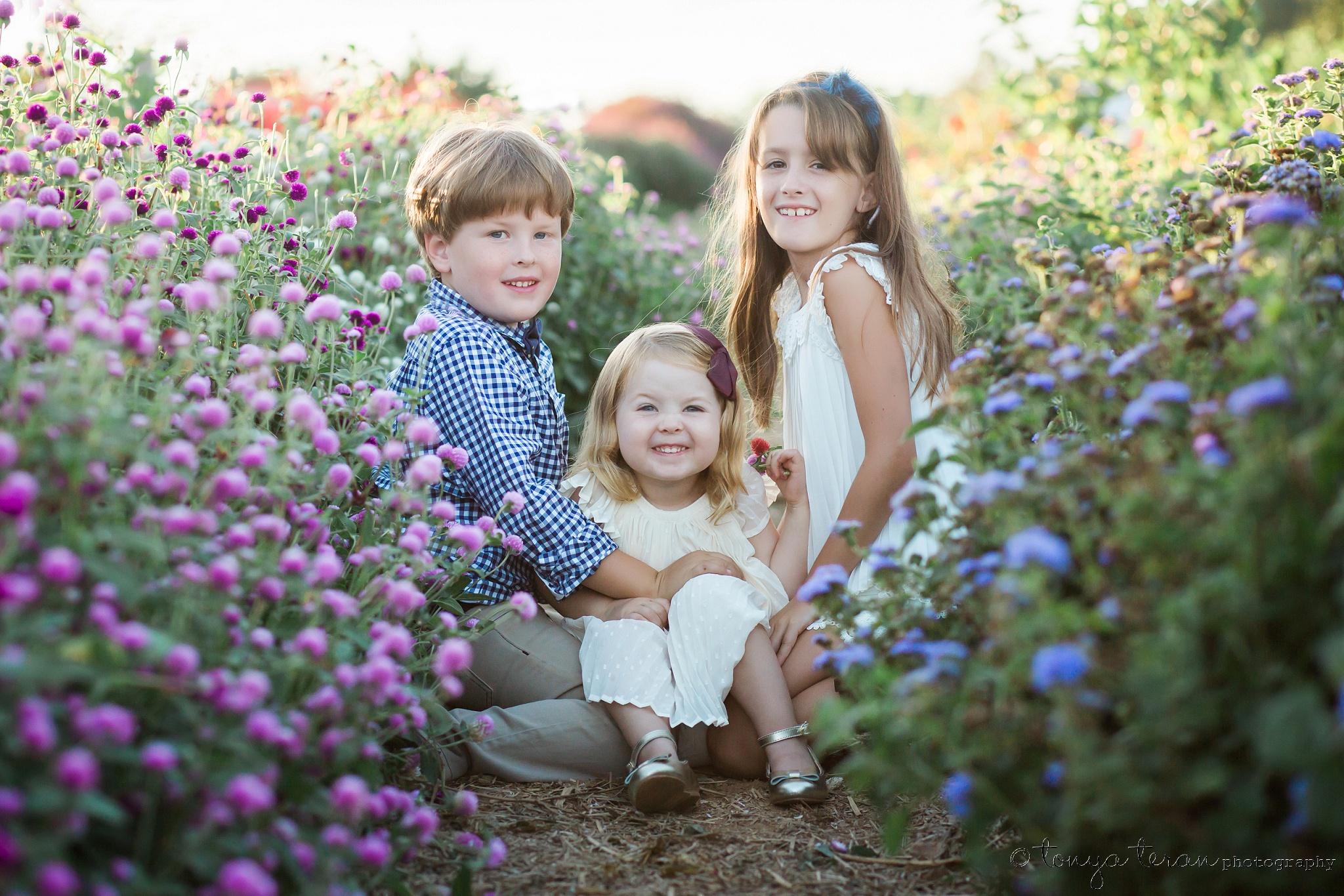 Outdoor Fall Family Photo Session | Tonya Teran Photography, Bethesda, MD Newborn, Baby, and Family Photographer