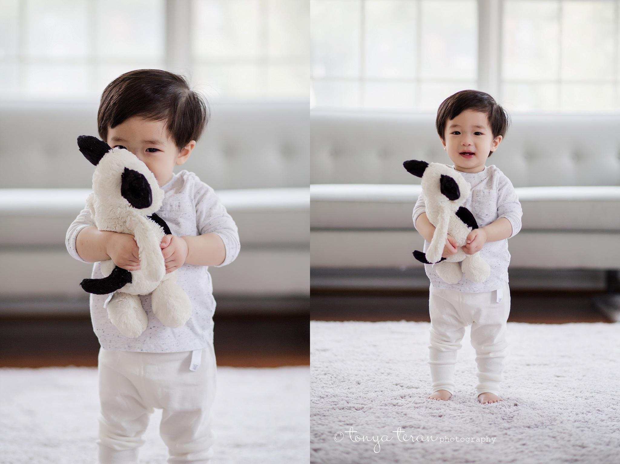 In-home Mini Family Photo Session | Tonya Teran Photography, McLean, VA #1 Best Newborn, Baby, and Family Photographer