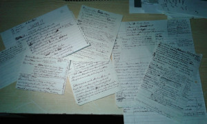 03 sample of notes from AMachines