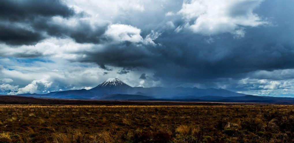 Moody Mount Tongariro