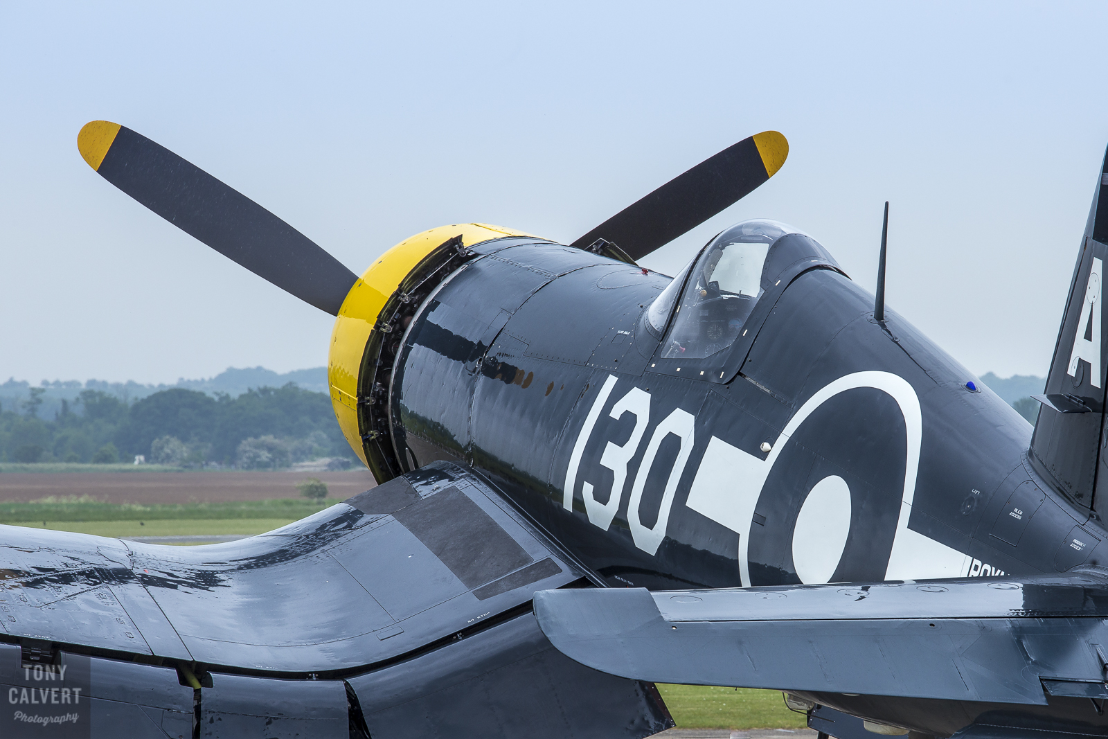 Corsair waiting to fly