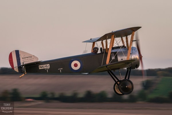 Sopwith Pup at Duxford Airfield