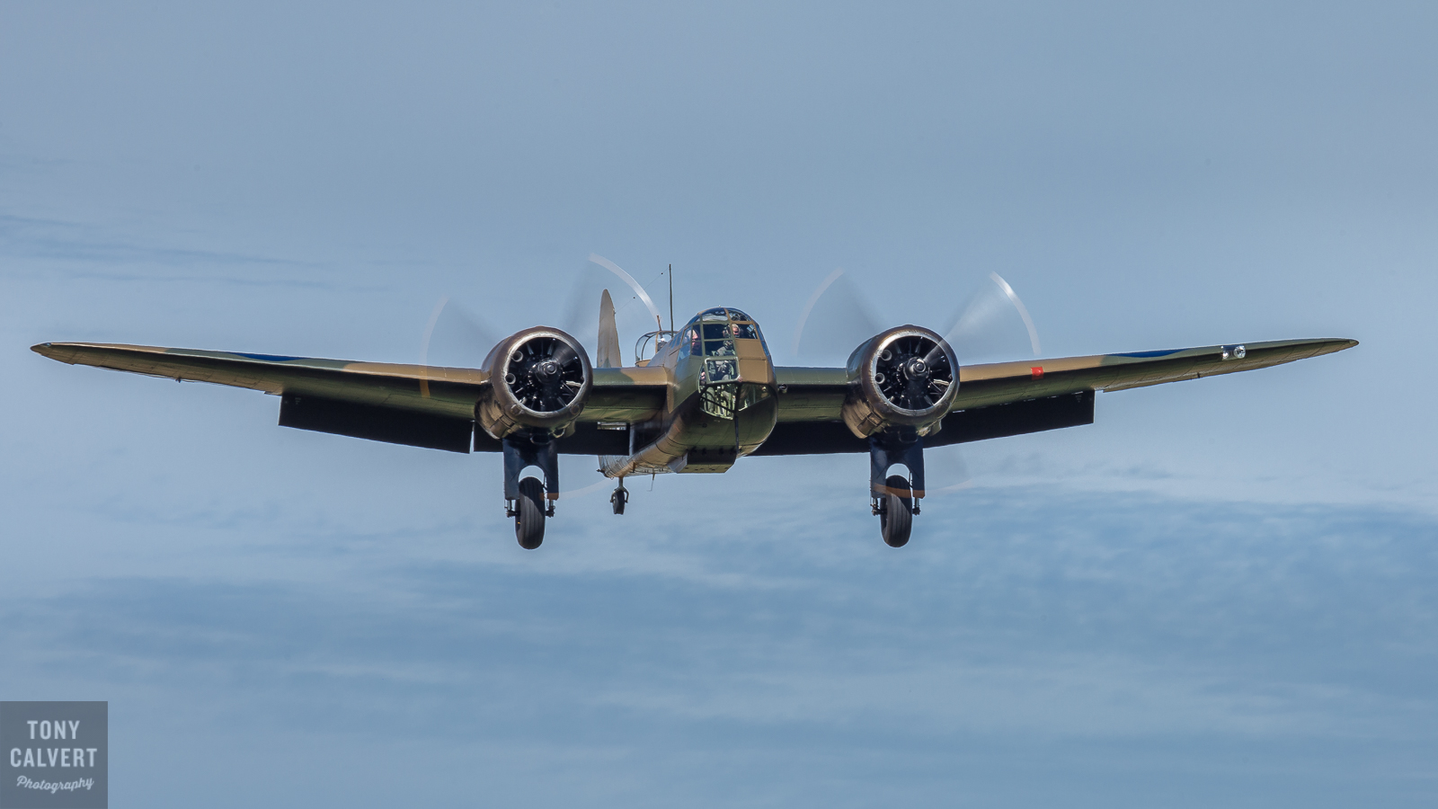 Blenheim on approach