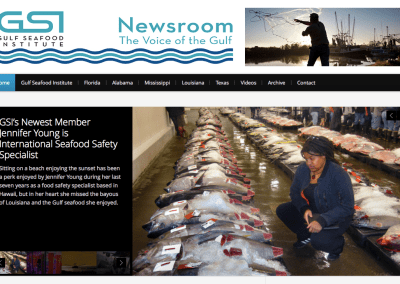 Online Newsroom for the Gulf Seafood Industry