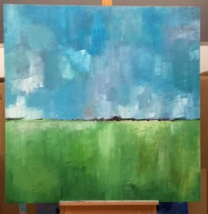 Winchcombe View - (On Easel)